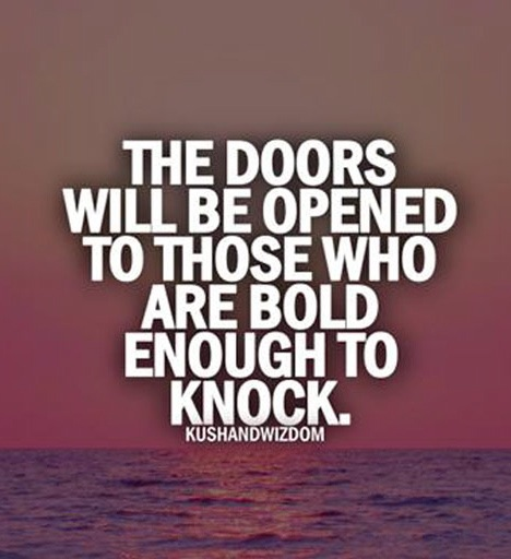 what's the fun way of saying 'knock before entering ...
